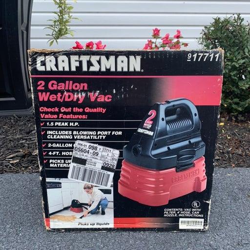 Craftsman 2-Gallon Wet/Dry Shop Vac