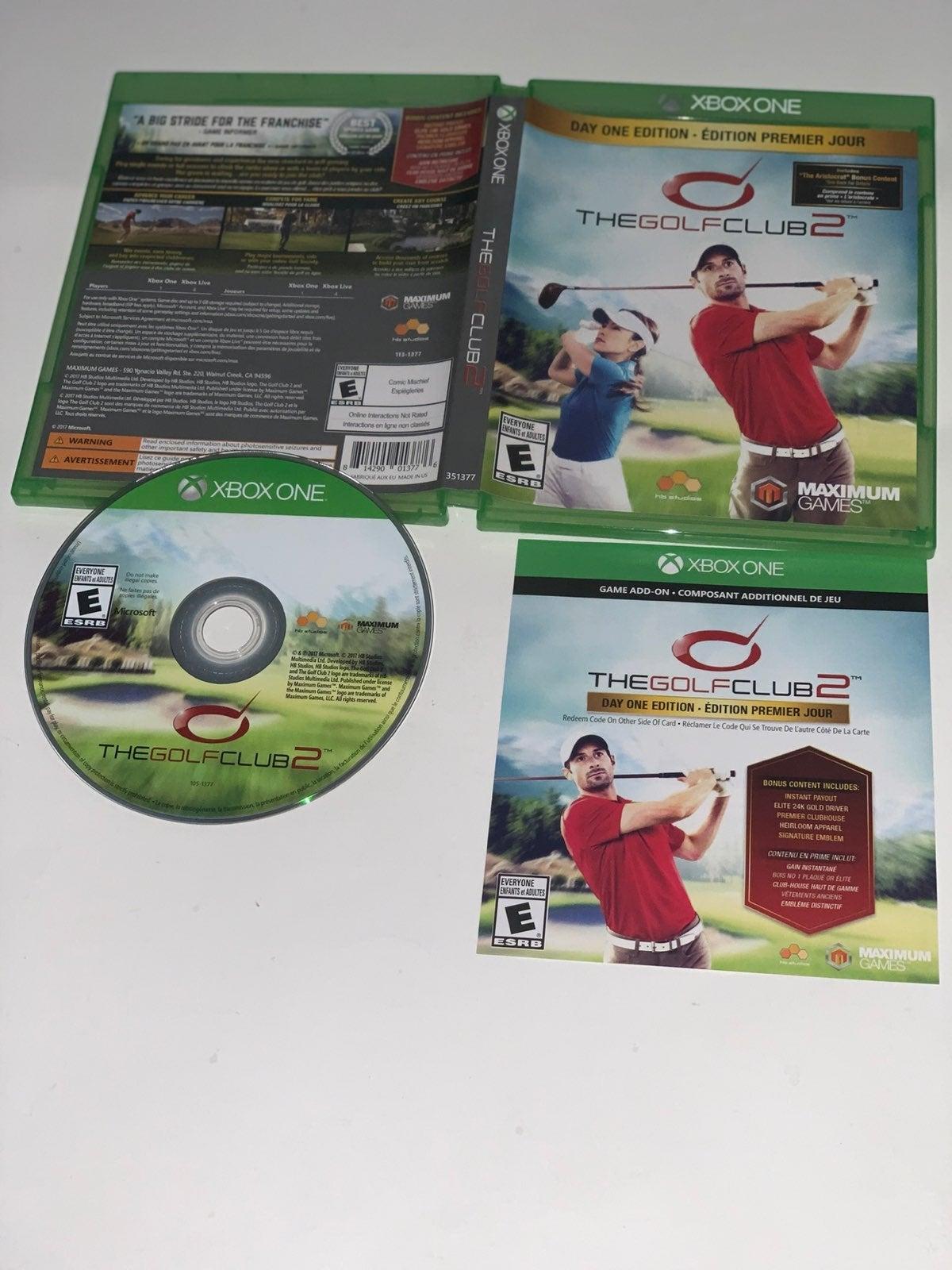 XBOX One The Golf Club 2 Day One Edition
