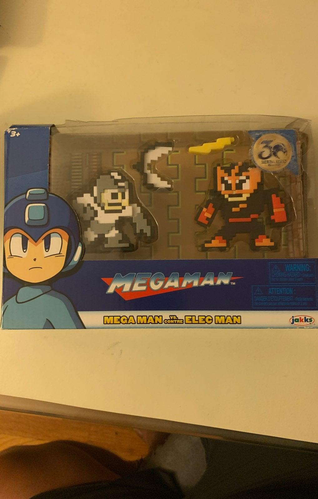 Mega Man vs Elec Man  8 bit