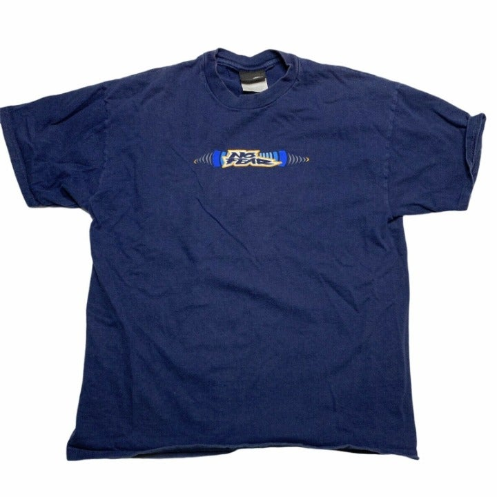 Vintage No Fear T-Shirt Size Small Blue