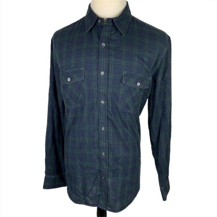 Vince Long Sleeve Button Shirt Men's XL