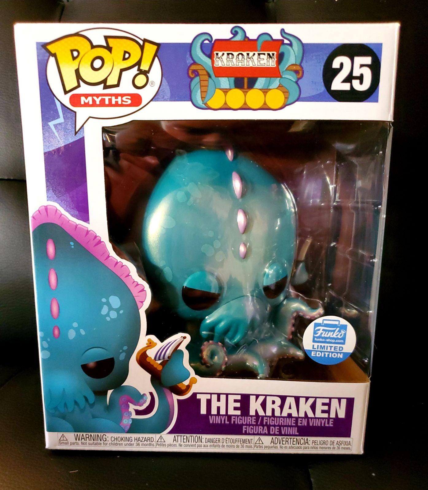 Funko Pop Exclusive The Kraken