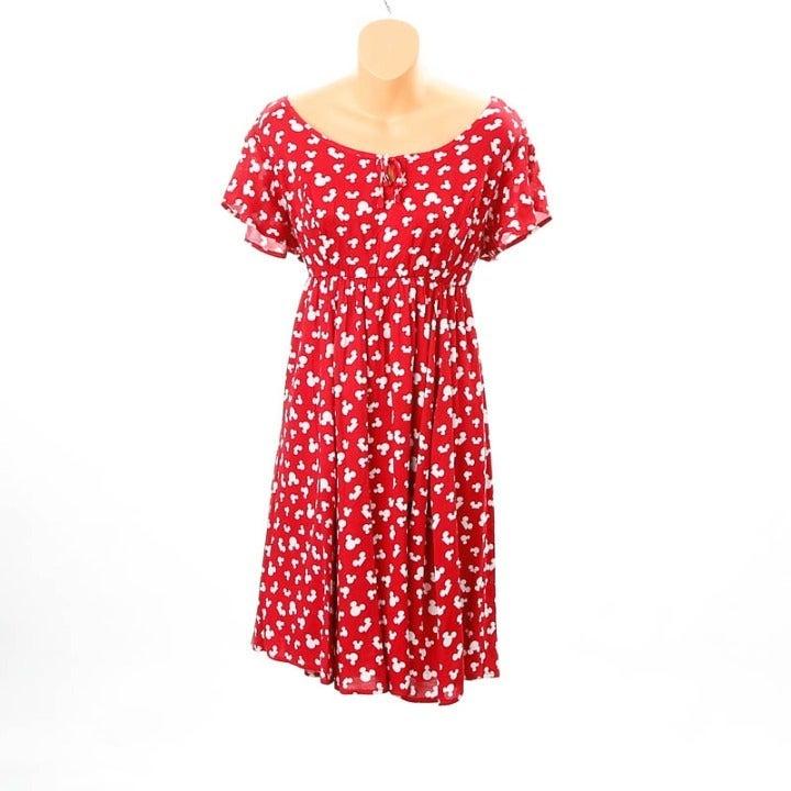 Disney summer red & white dress