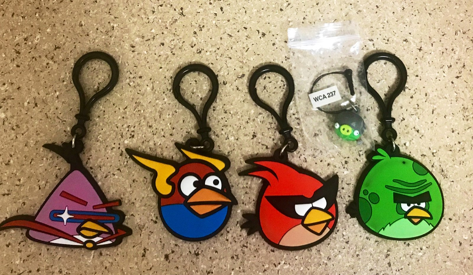 Angry Birds Keychains & Dangler