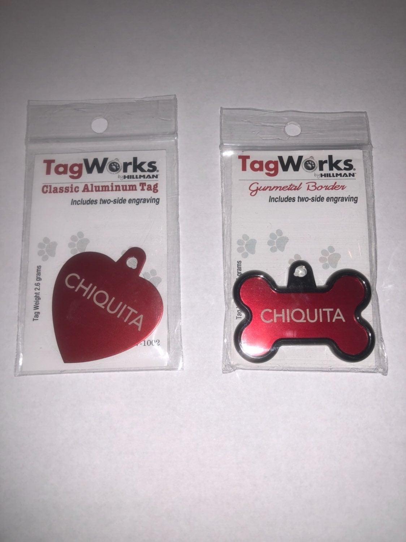 Custom Dog Tags For Xenakyn !!