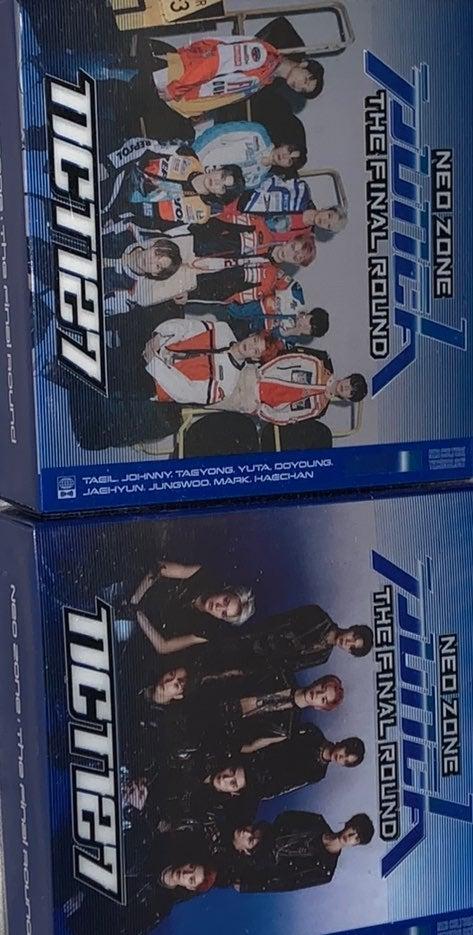 2 NCT127 Neozone Album kit