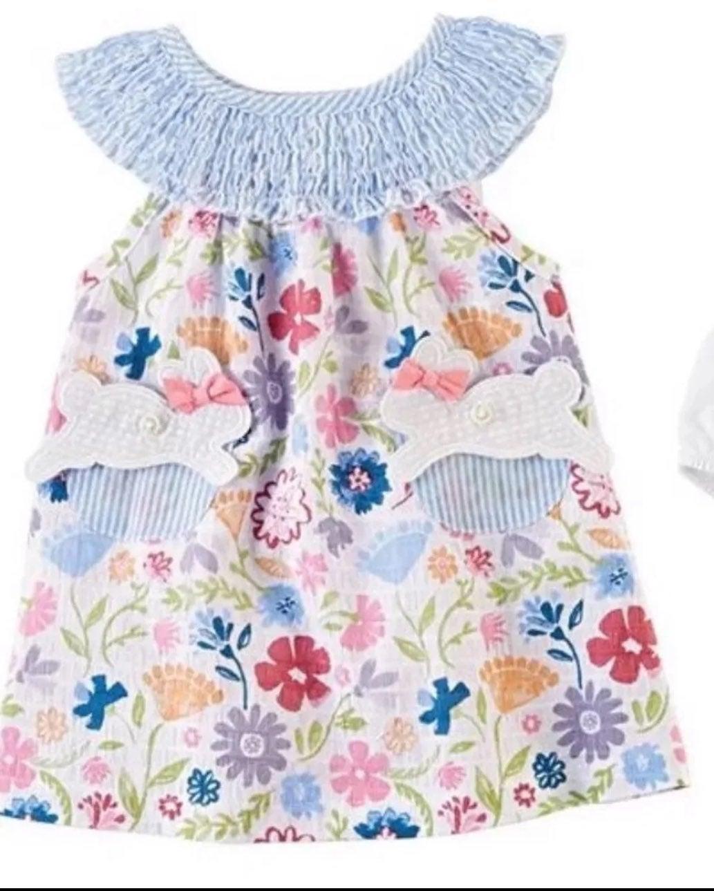 Mudpie Spring/ Dress 4T NWT
