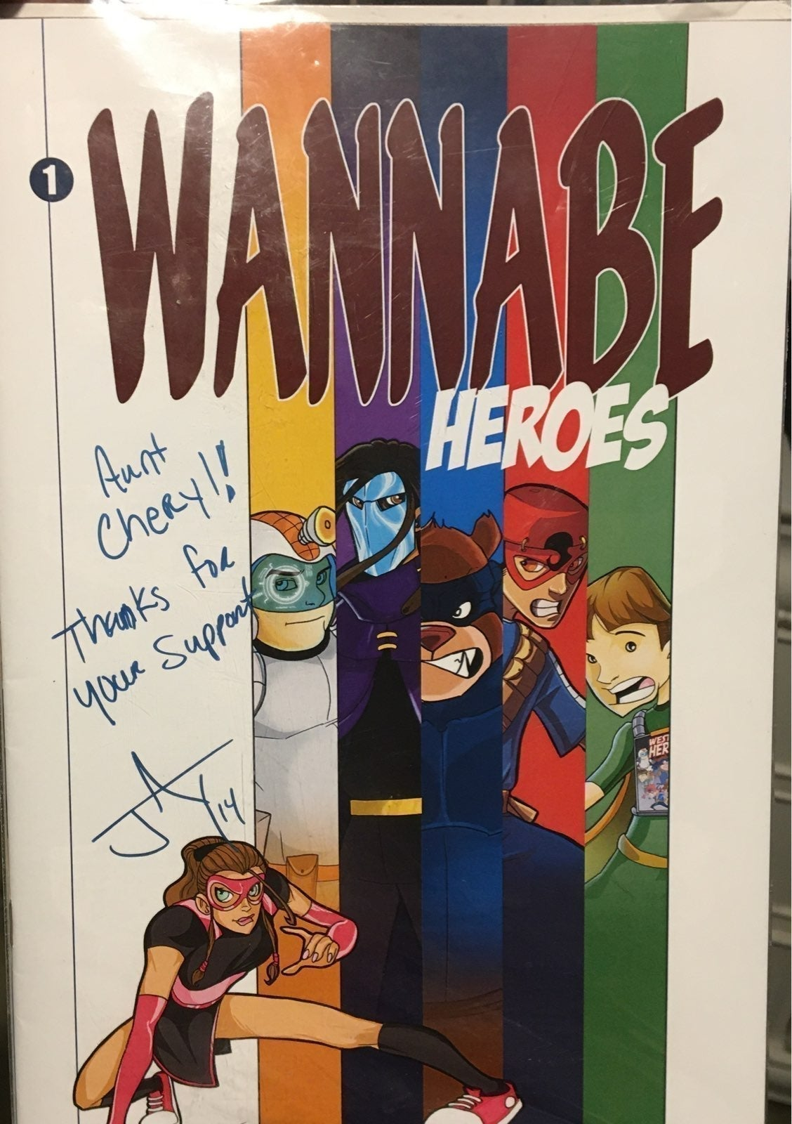 1st issue signed by creator!