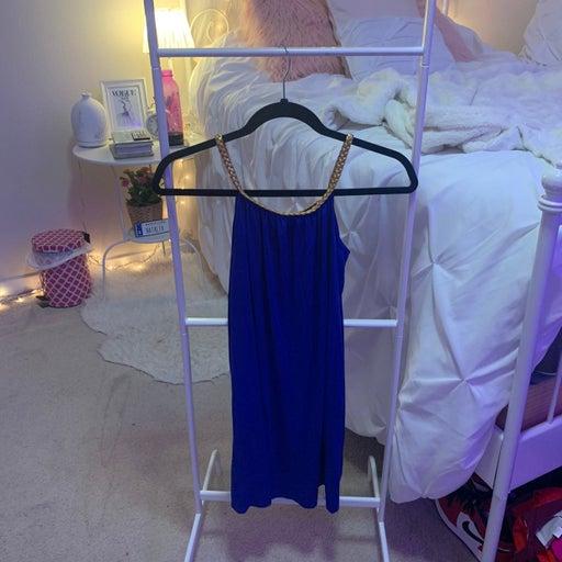 Blue dress from Barcelona