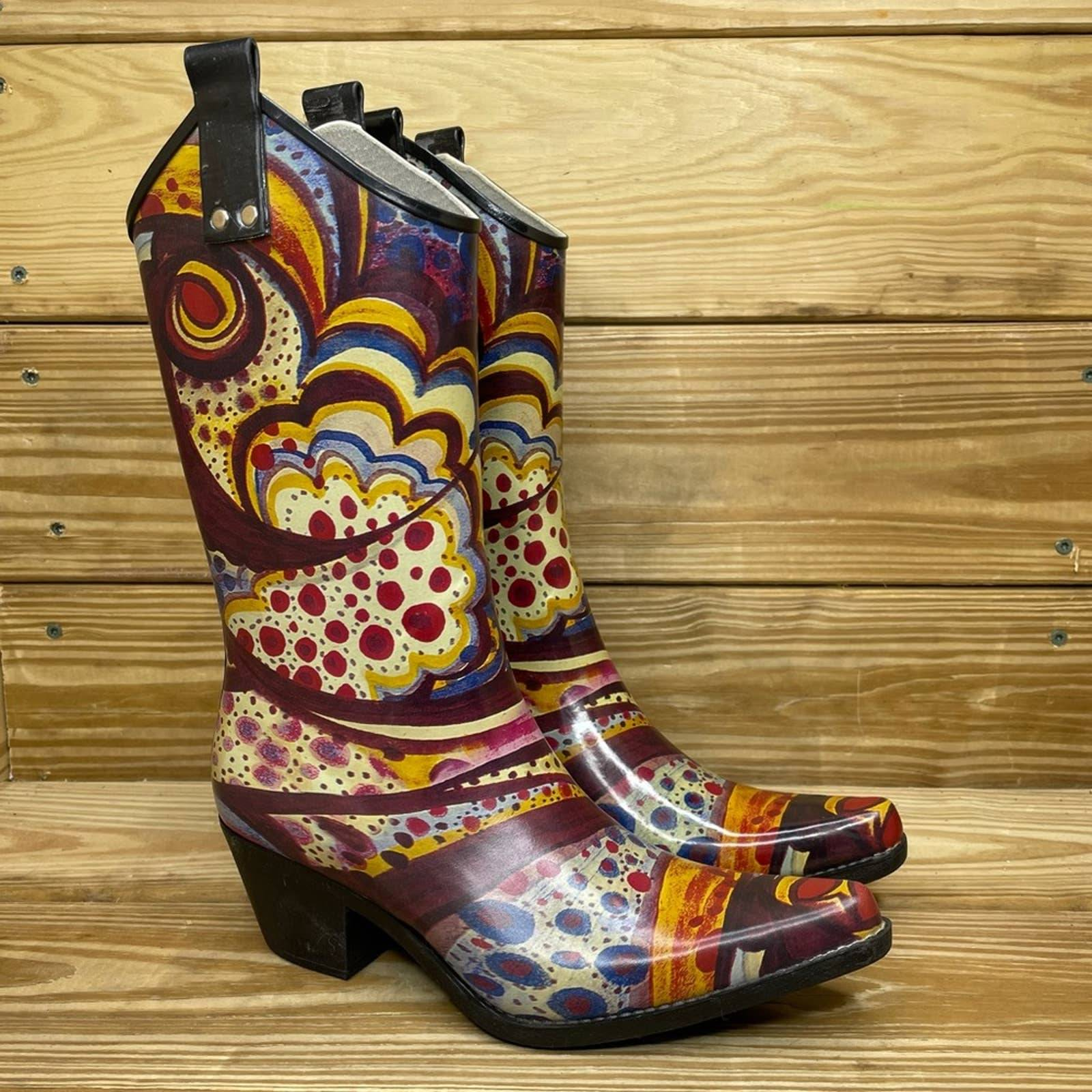 Nomad Yippy Western Rain Boots