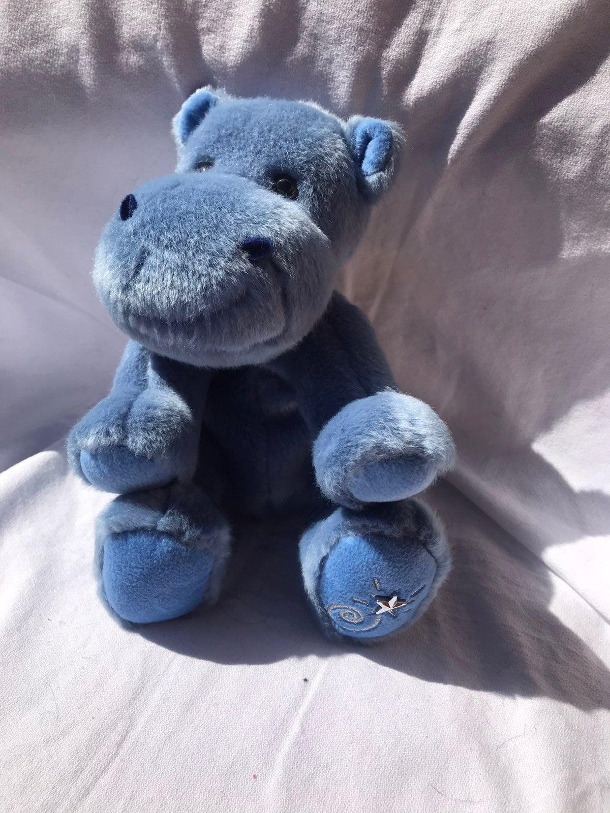 Plush Shining Star Hippo by Russ