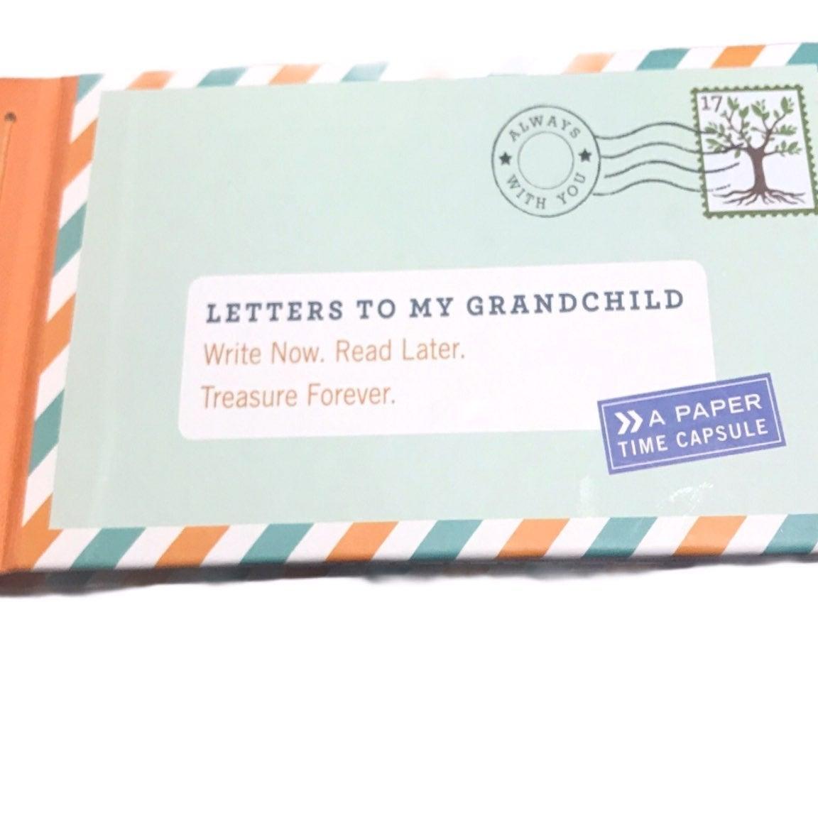 Letters to Grandchild Paper Time Capsule