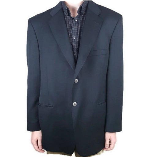 """Stafford """"The Natural"""" 46R Sport Coat"""