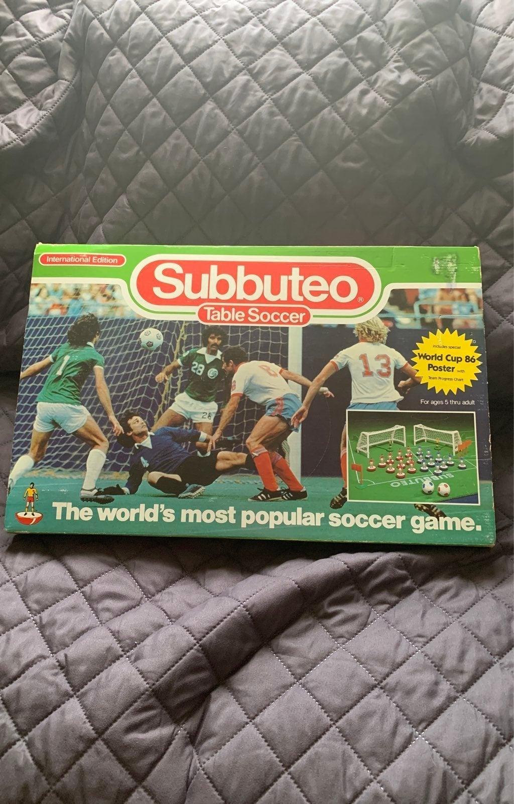 Subbuteo Table Soccer Game International