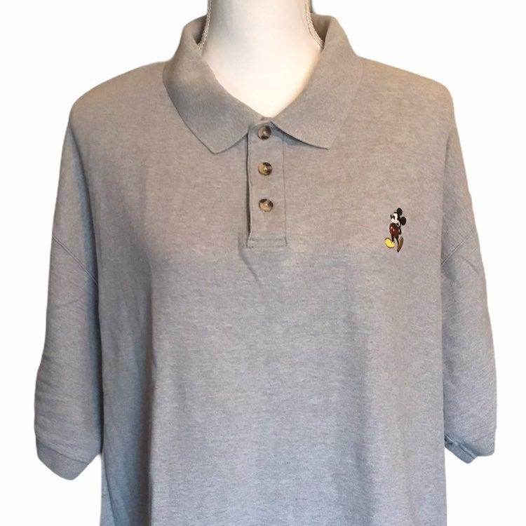 Vintage Disney World Mickey Polo Shirt