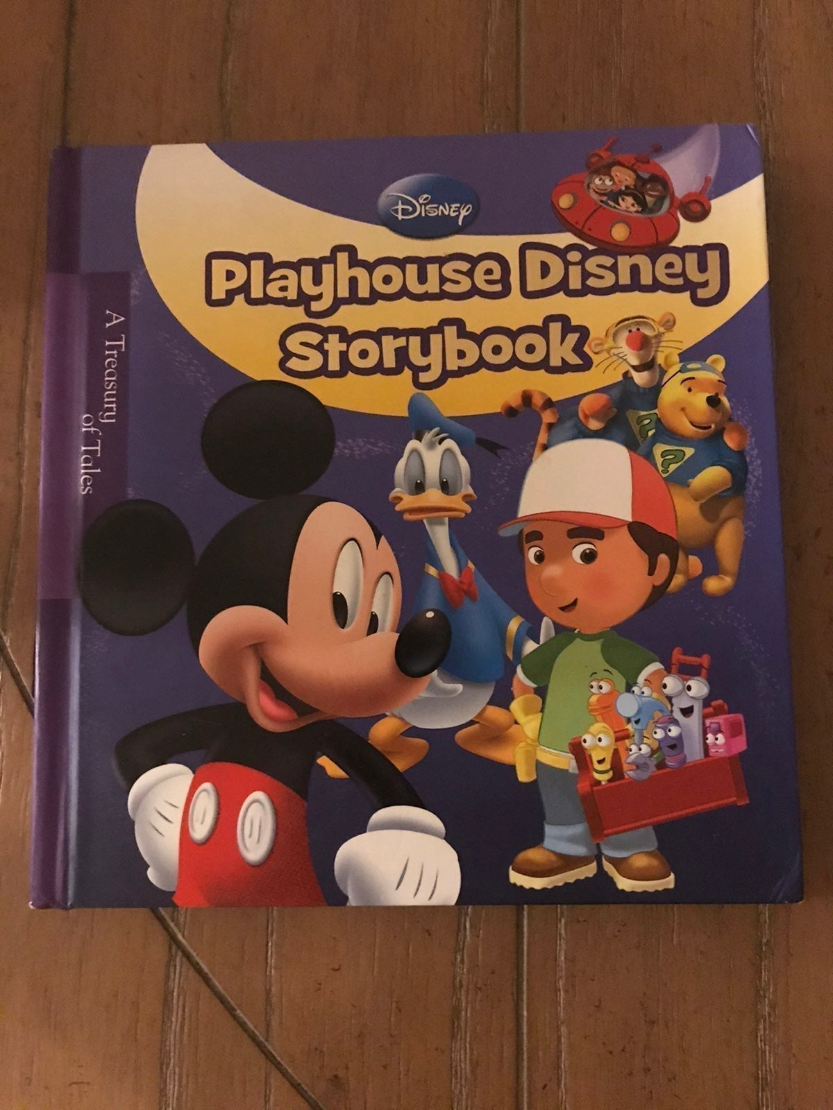 Disney playhouse  story book
