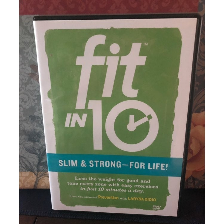 Fit in 10: Slim & Strong for Life DVD