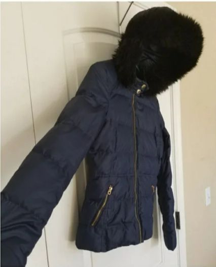 Juicy Couture Down Puffer Jacket SMALL