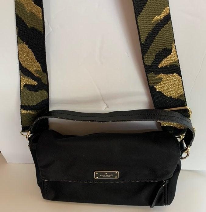 Kate Spade  Black Nylon Tote Bags