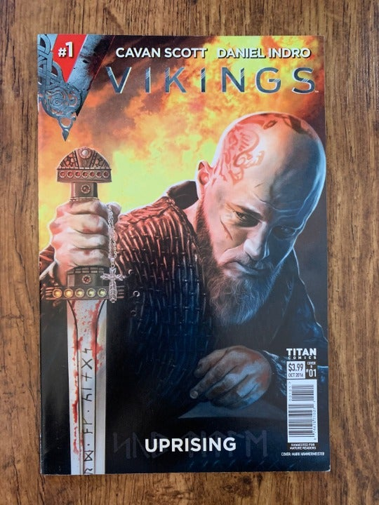 VIKINGS UPRISING #1 2016 VF+ TITAN