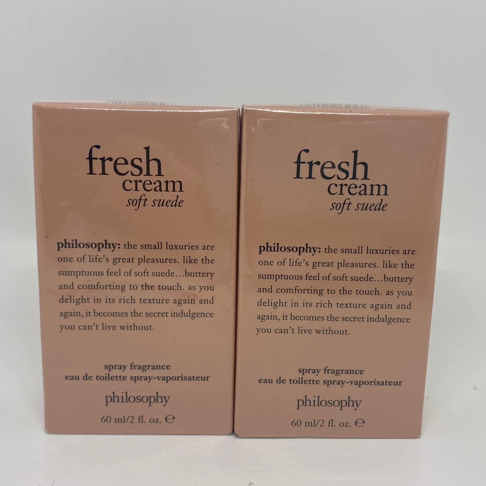2 Philosophy Fresh Cream Soft Suede 2 oz