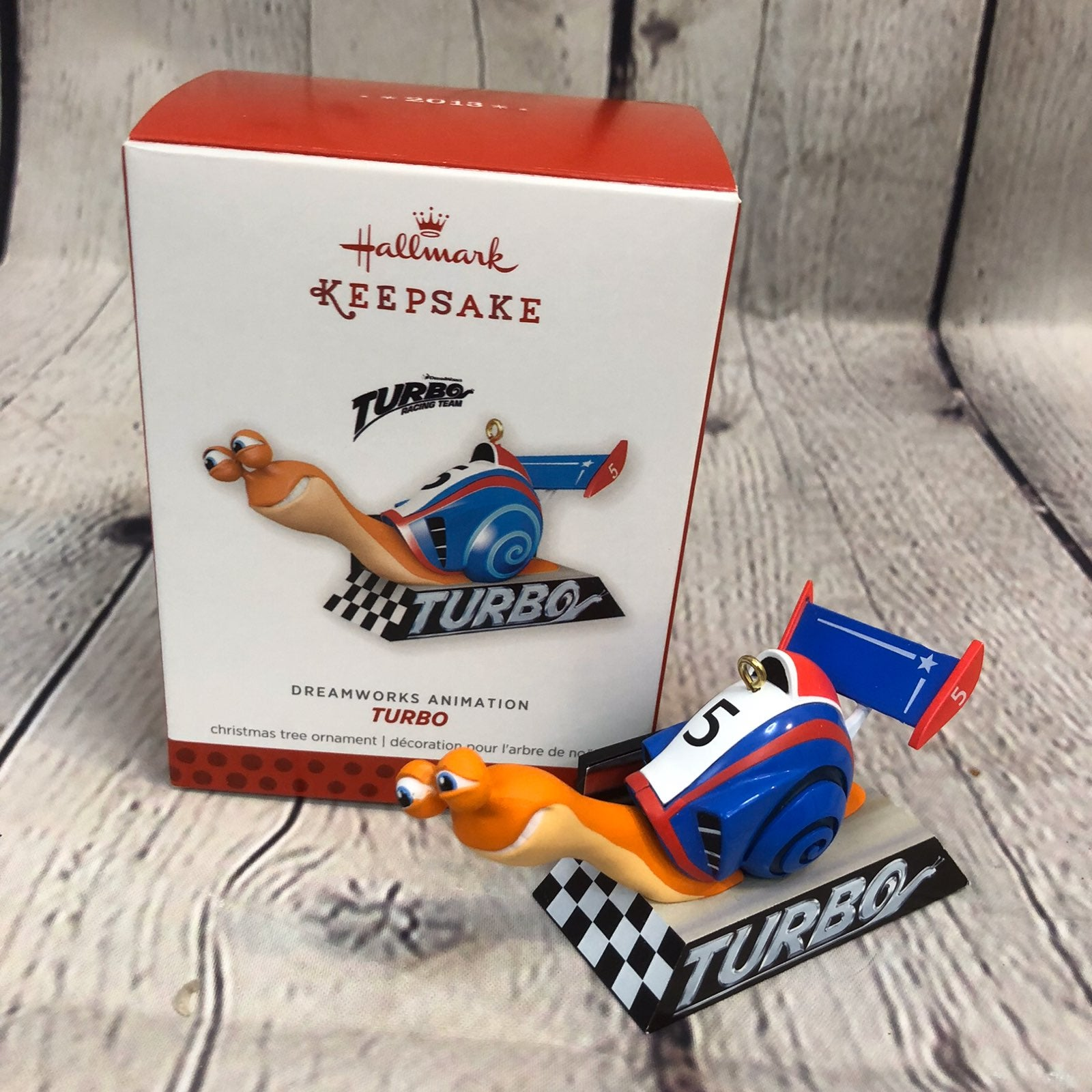 2013 HALLMARK Turbo Dreamworks Ornament