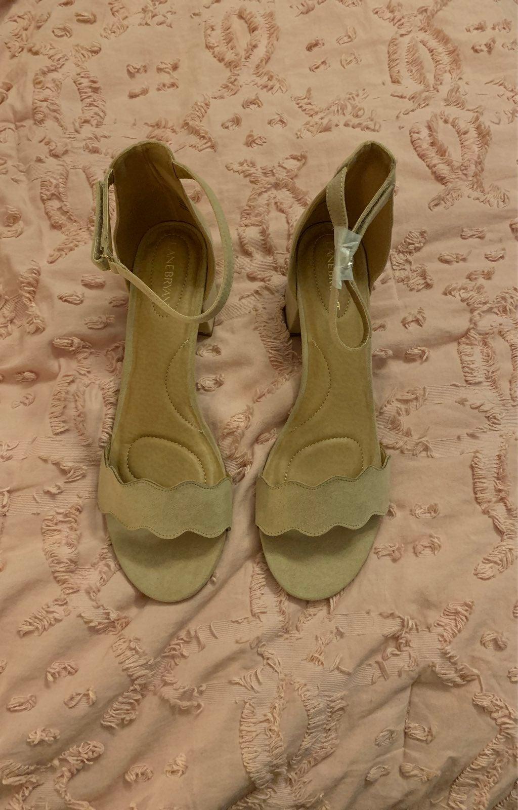 Lane Bryant Beige Sandals