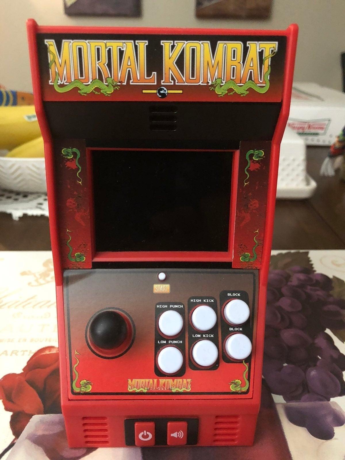 Mini Mortal kombat arcade
