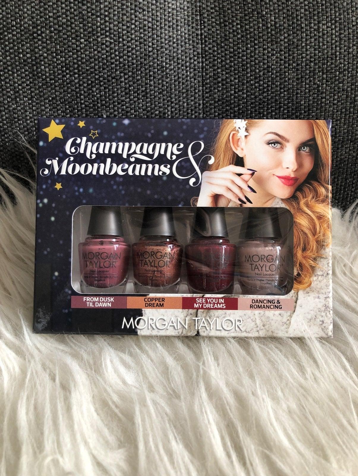 Morgan Taylor Champagne Nail polish set