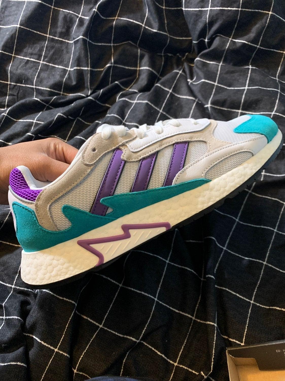 Adidas tresc run SIZE 12 purple/blue