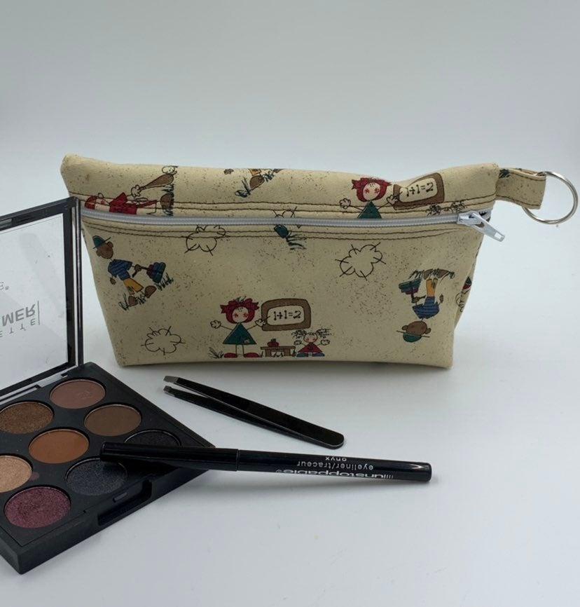 Teacher / School Themed Cosmetics bag