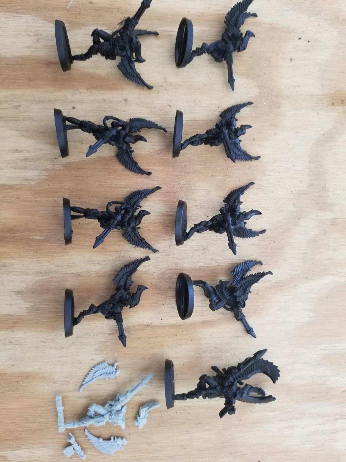 Eldar craftworld Swooping Hawks 40k