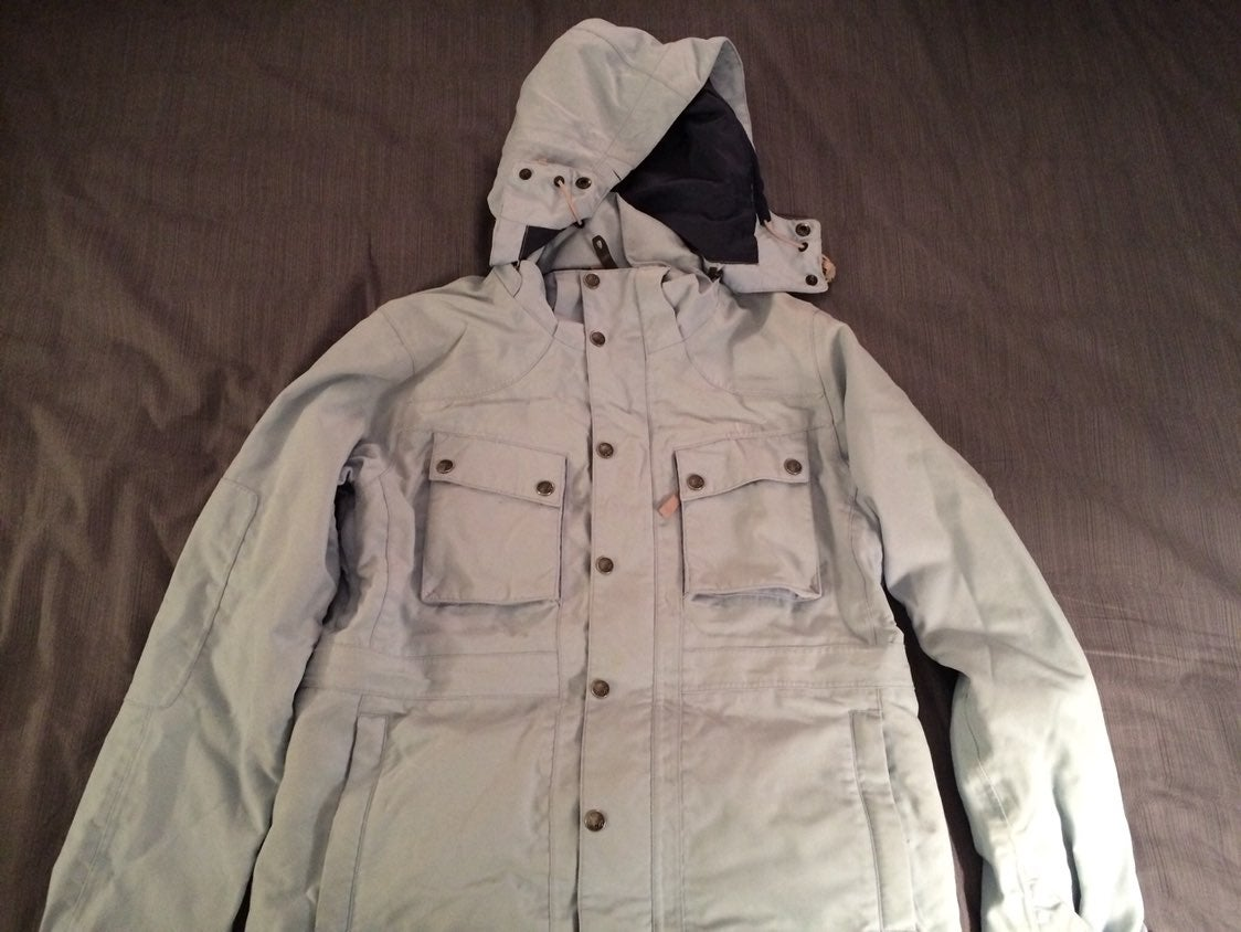 Burton womens jacket with watch - light