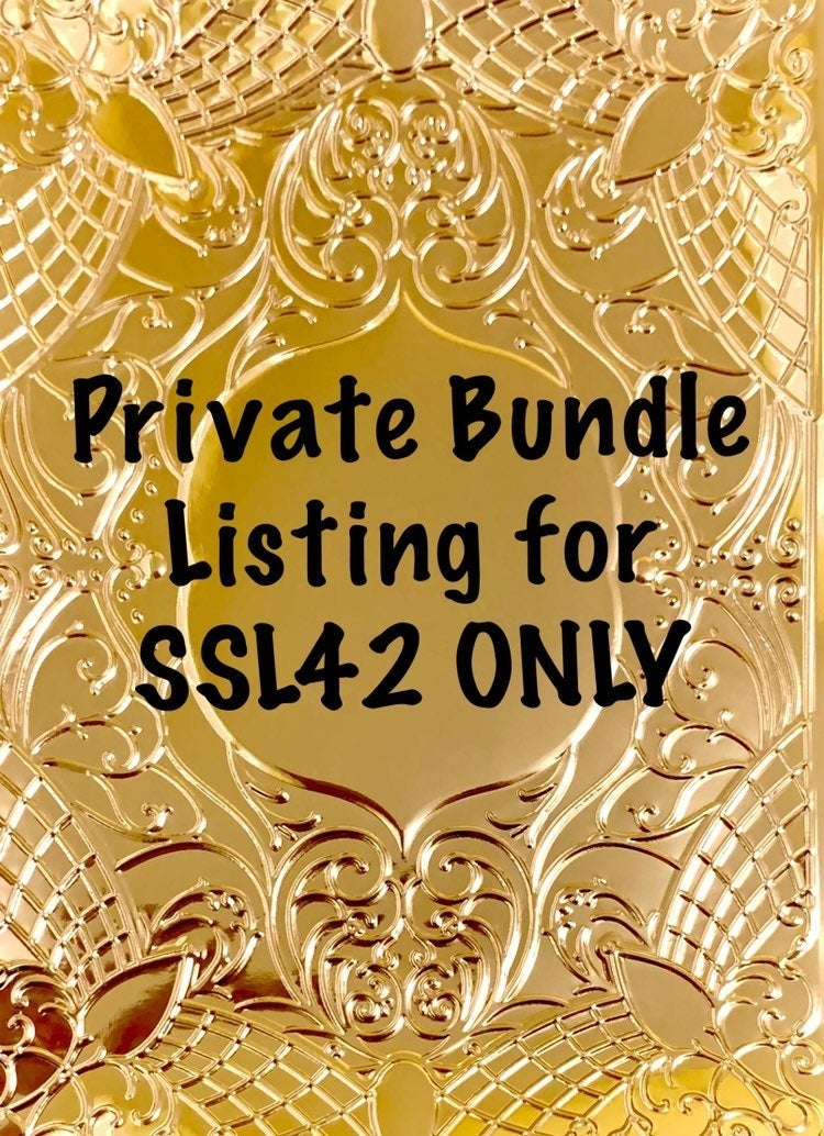 Private SSL42 bundle listing only
