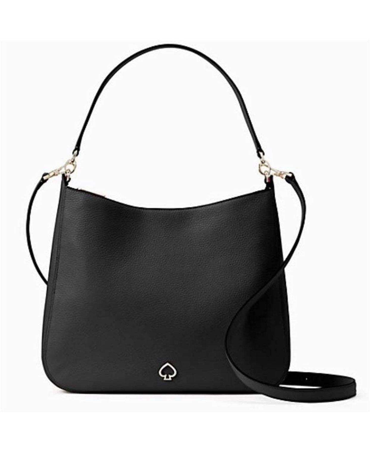 Kate Spade New York Black Leather Should