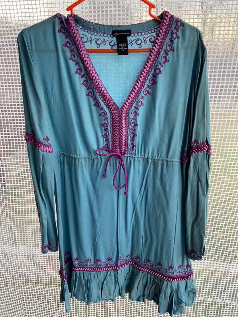 Womens Boho Style Dress