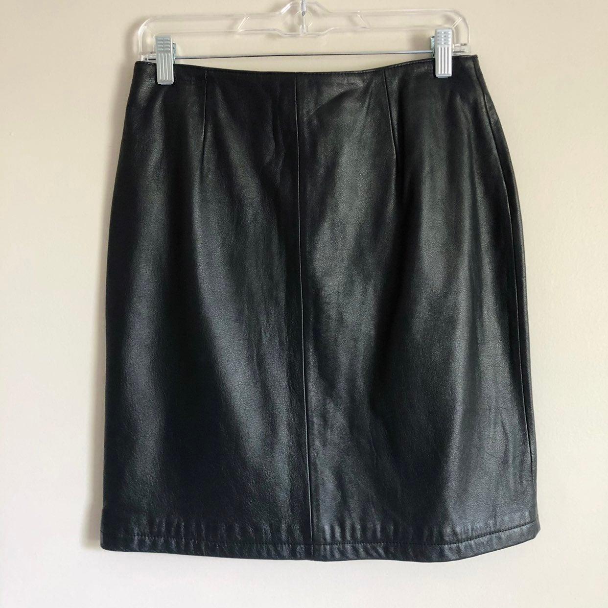 Wilsons Leather Skirt
