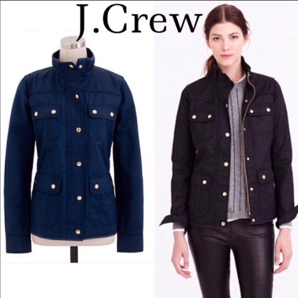 J. Crew Downtown Field Jacket Size XXS