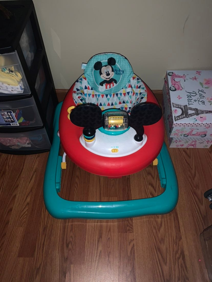 Mickey mouse baby walker