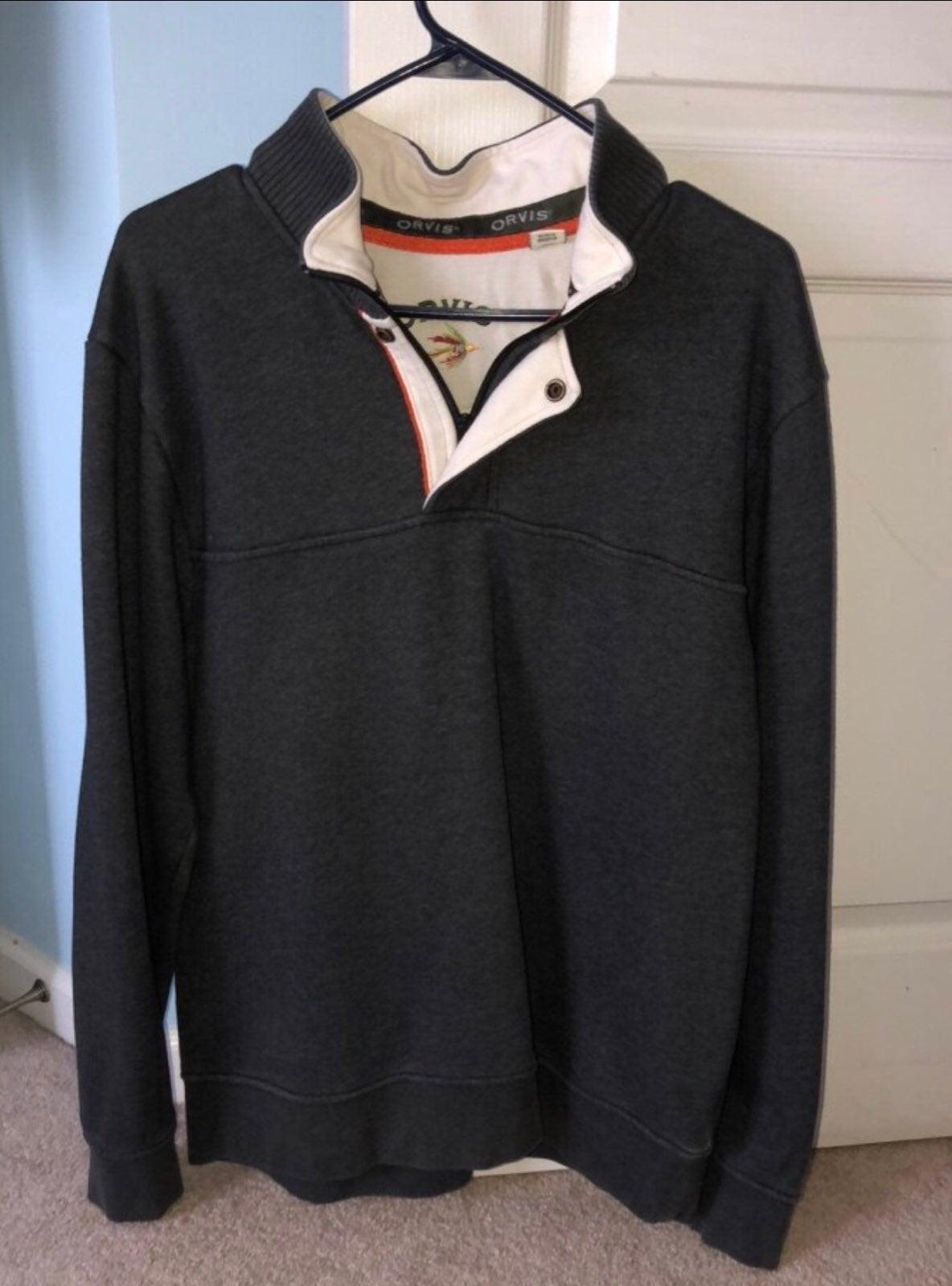 Orvis Quarter Zip Sweater