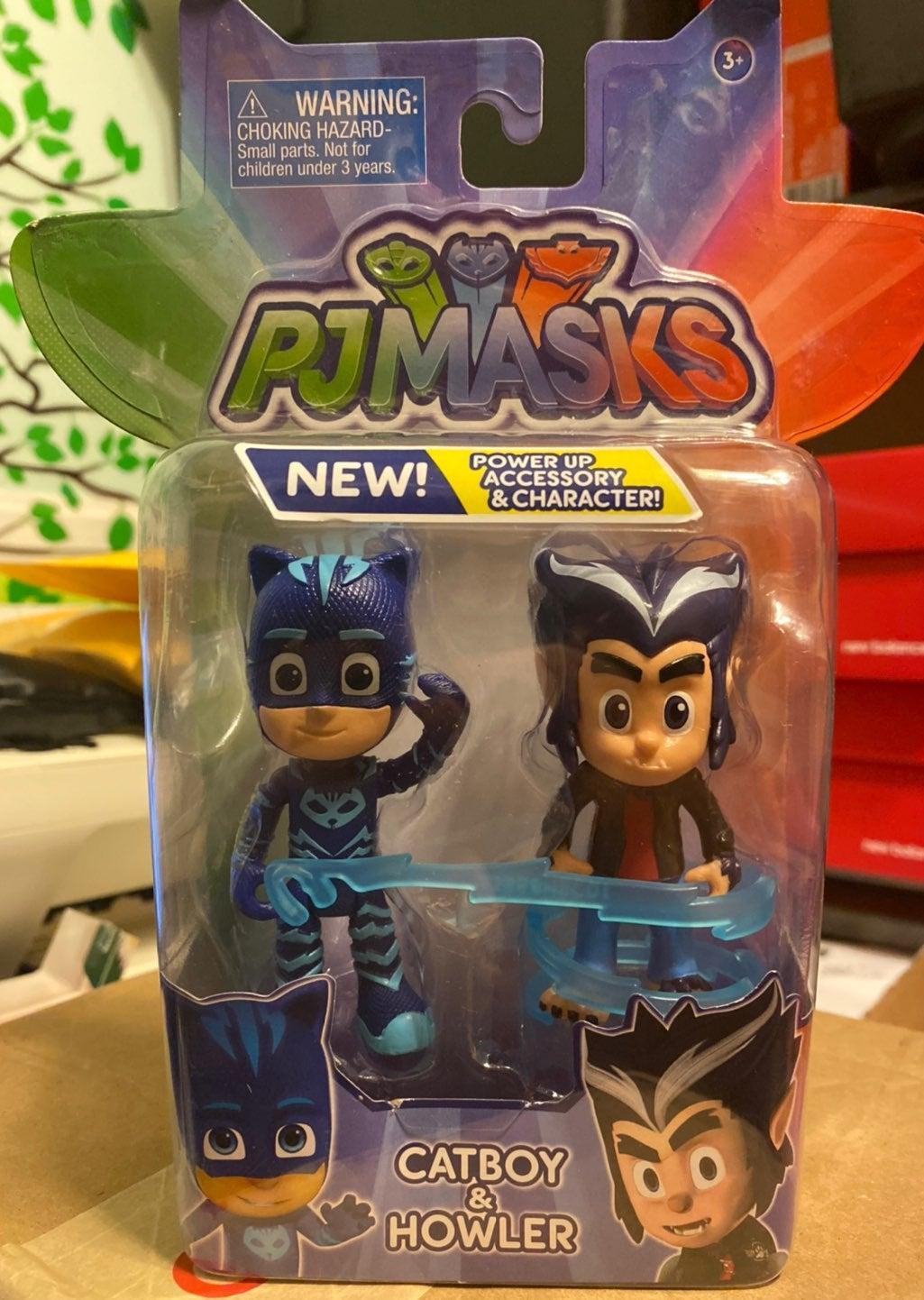 PJ Masks Catboy and Howler Figures NEW