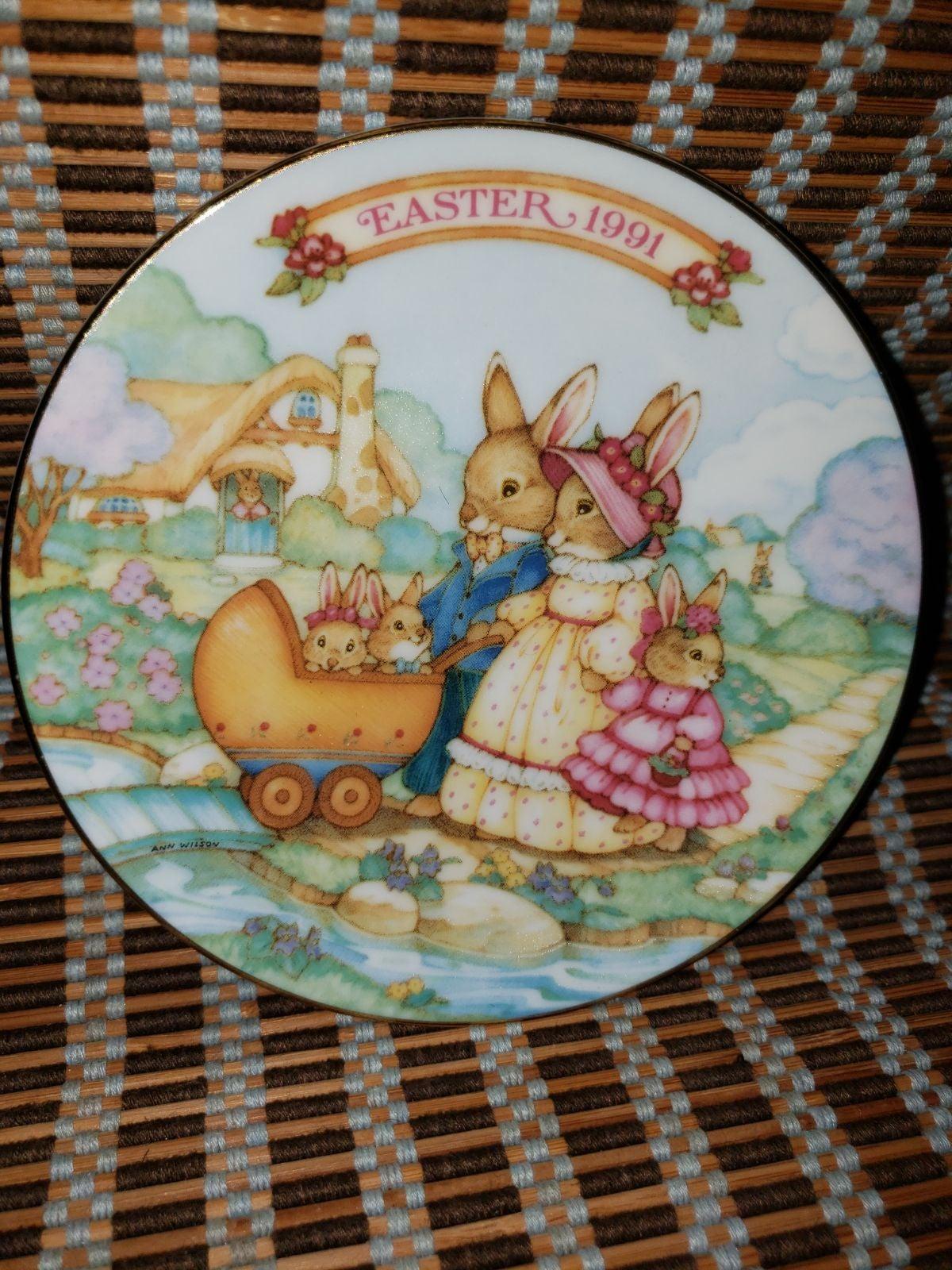Avon Easter Plates-Vintage 1991