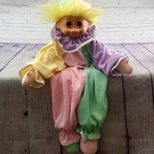 Vintage Troll Doll Troll Clown Pajama B