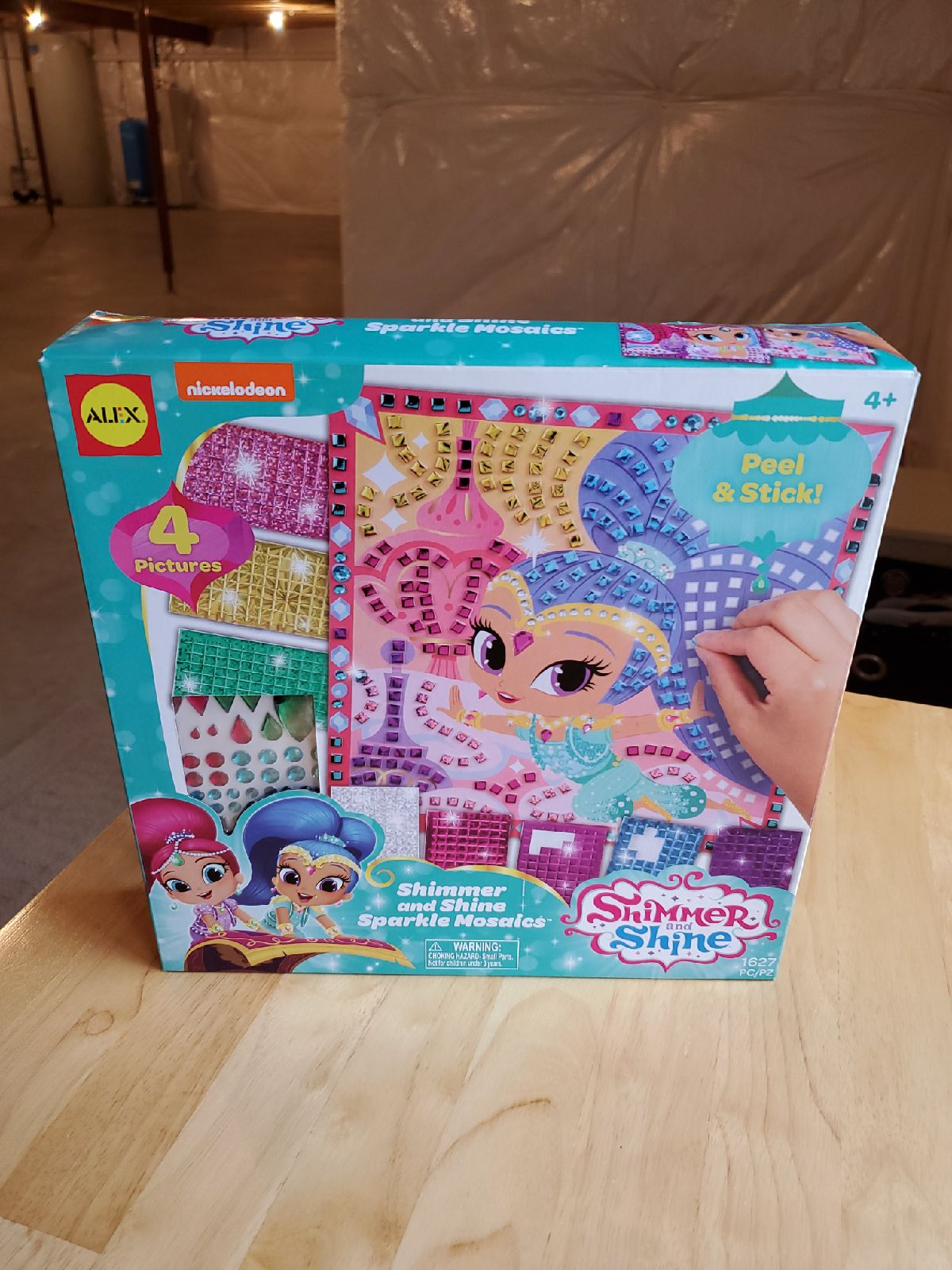 Shimmer & Shine Mosaics Craft Kit