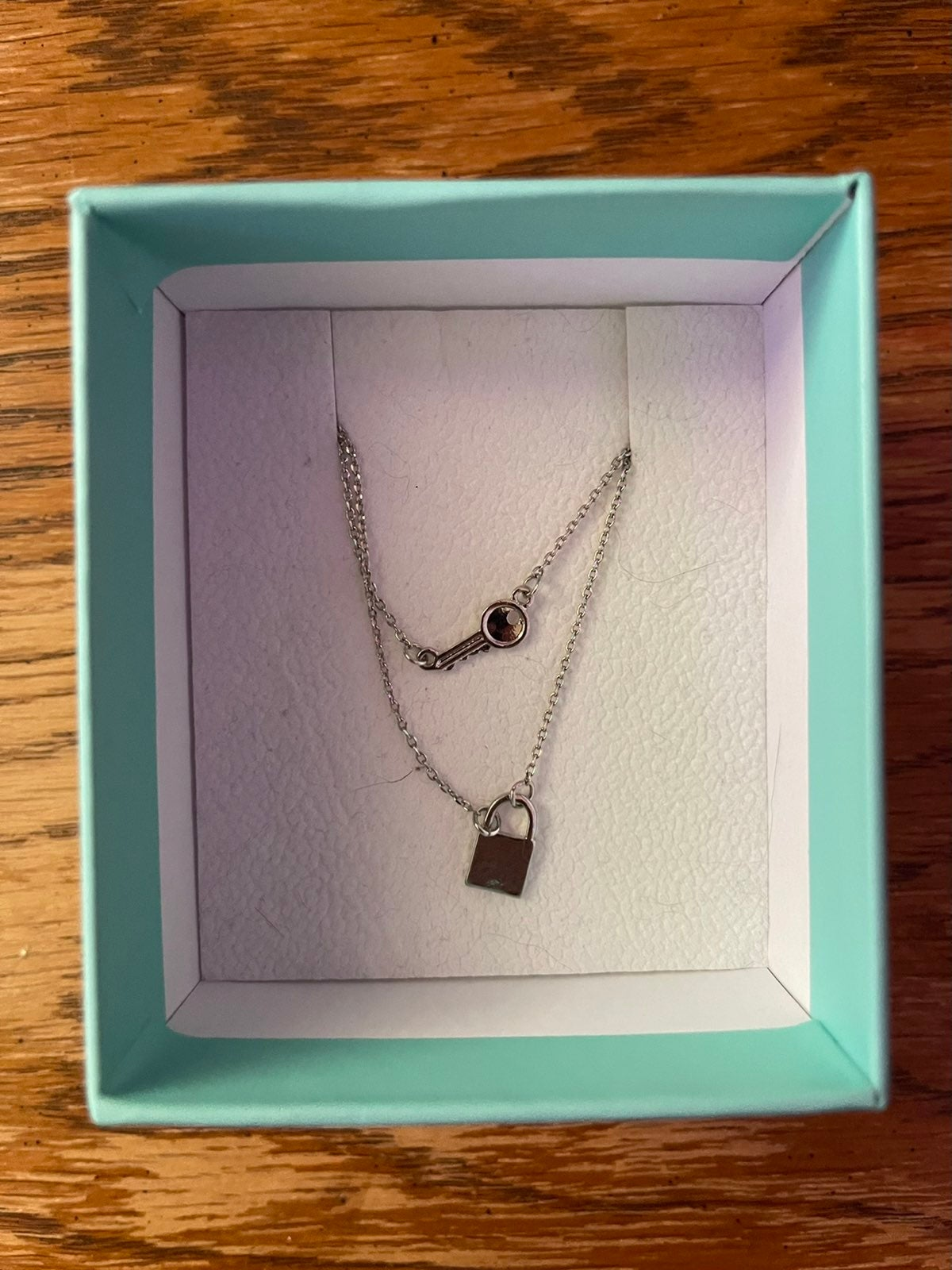 buckle stack necklace