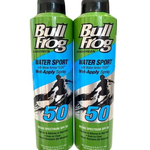 Bull Frog Water Sport Spray Sunscreen