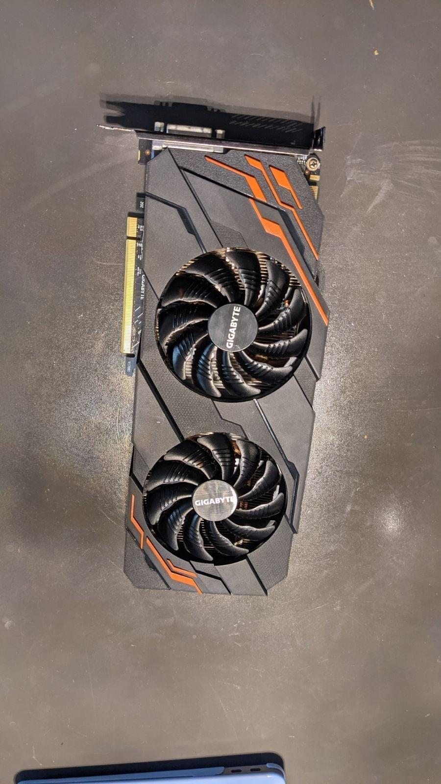 GTX 1070 Gigabyte GeForce G1 Gaming 8G