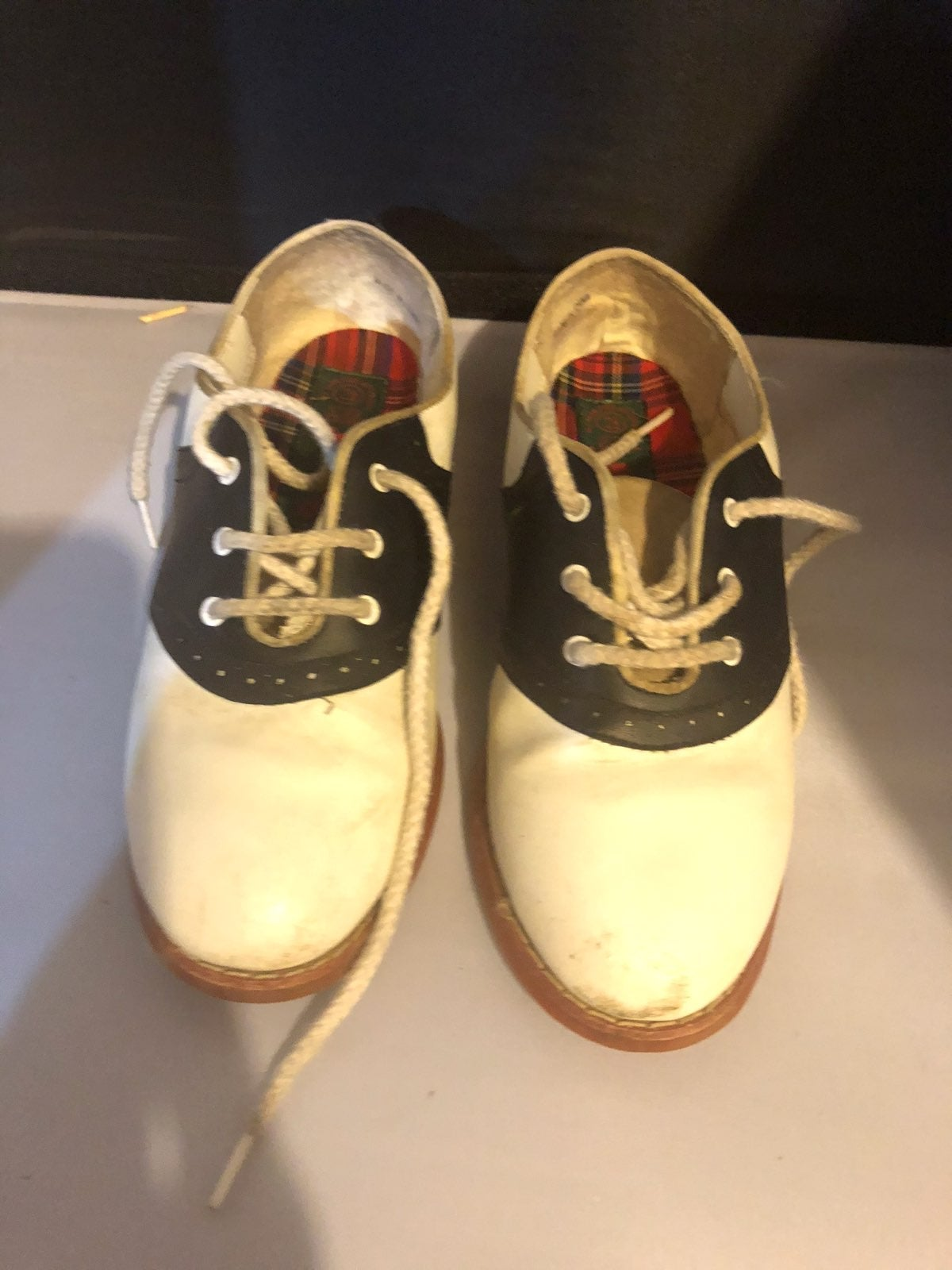 Girls Saddle Shoes