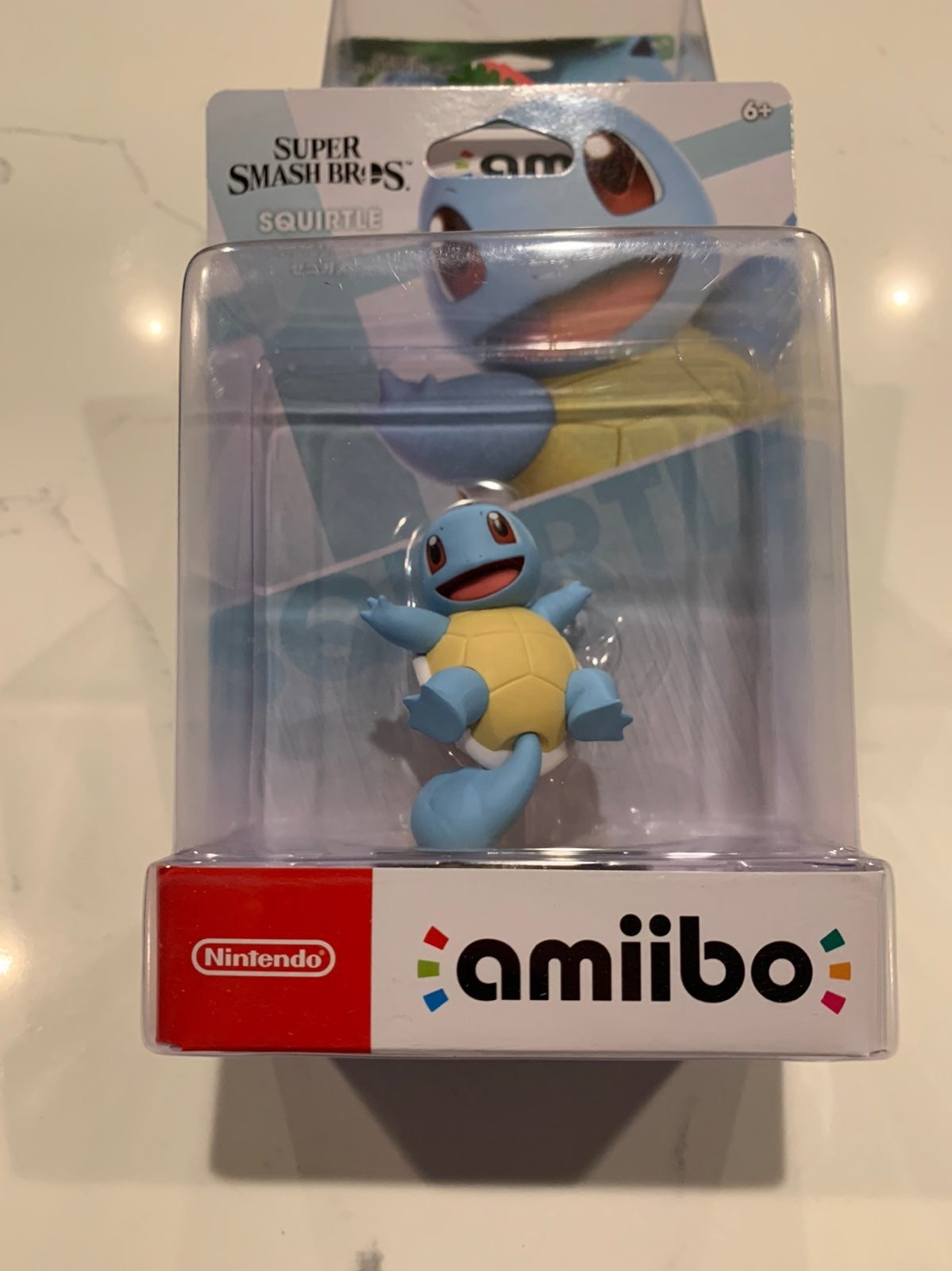 New smash bros Squirtle amiibo
