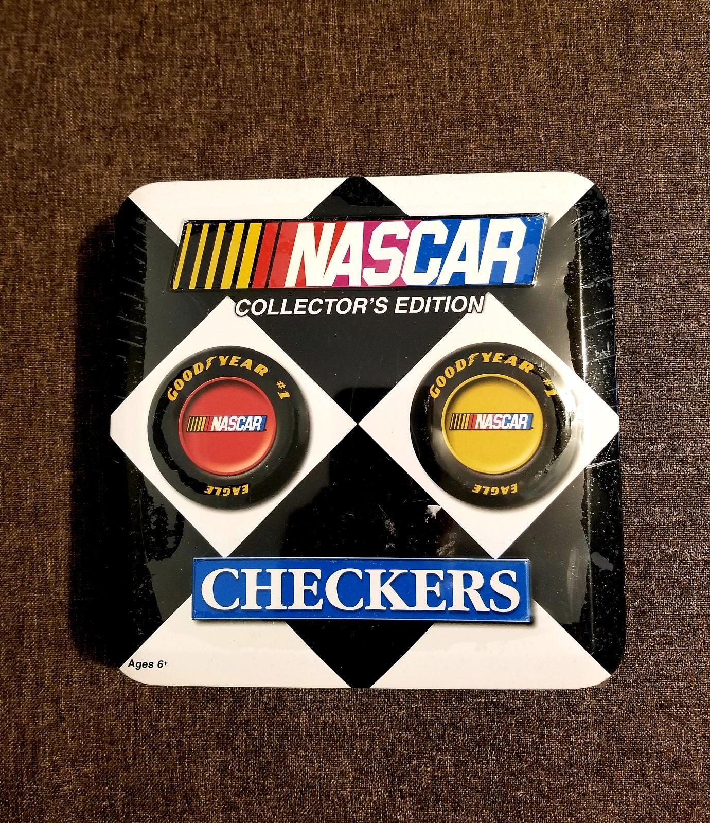 NASCAR Checkers Collector's Edition Tin